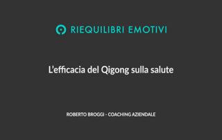 L'efficacia del Qigong sulla salute